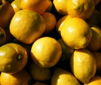 Espumilla de limón:
