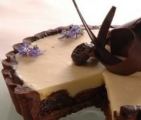 Tarta de Chocolate e Higos