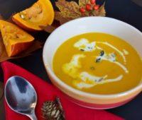 Sopa crema de Calabaza y Jengibre: Receta exquisita