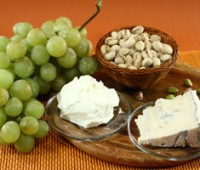 Boconcitos de uva al pistacho