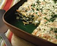 Tortilla al horno de ricotta y espinaca
