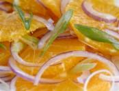 Ensalada de naranjas y cebollas