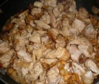 Receta de Pollo con salsa de almendras: