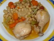 Puchero de gallina