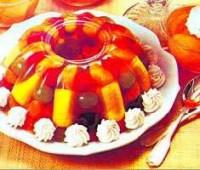 Aspic de frutas de estación