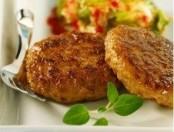 Miniburger aromáticas al  quesito