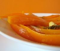 Zanahorias a la naranja