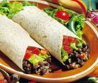 Burritos de verduras