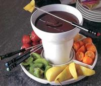Idea para el Día de la Madre : Fondue de chocolate.