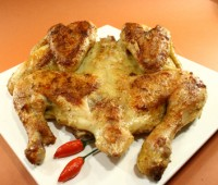 Pollo a la diabla