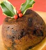 Christmas Puddinng:dulce de navidad