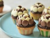 Dia de la madre: cupcakes al chocolate