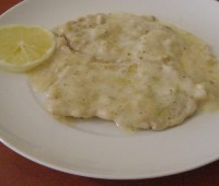 Escalopes al limón