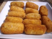 Recipes:Chicken croquettes