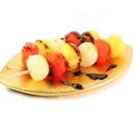 Brochette de frutas