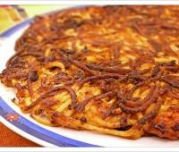Tortilla de spaghetti