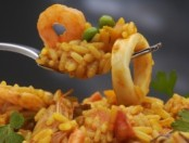 Arroz con frutos de mar