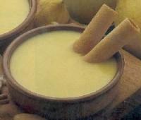 Crema inglesa a la vainilla