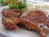 Chuletas de Cerdo Agridulces fáciles y rápidas