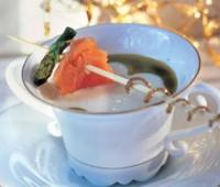 Salsa fría de salmón ahumado: Receta