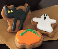 Bizcochos de Halloween para hacer con los niños