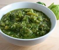 Salsa verde de perejil