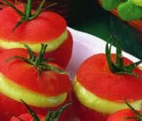 Tomates rellenos con palta