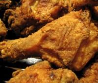 Patas de pollo a la americana