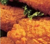 Alitas de pollo apanadas y fritas hechas en casa