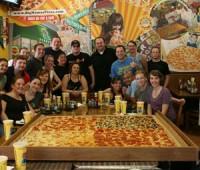 ¿Sabés quién hace la pizza más grande del mundo?