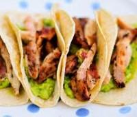 Tacos mexicanos ardientes para San Valentín