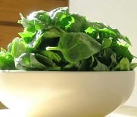 Propiedades de las verduras de hojas verdes