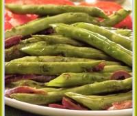 Chauchas a la criolla: Receta de frijoles verdes,judías, ejotes, habichuelas o vainitas como quieran llamarle