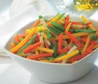 ¿Cómo hacer para cocinar una juliana de verduras ? Secreto de cocción de una Juliana de Verduras