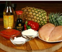 Pollo en salsa agridulce: Sabor delicado y exótico