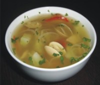 Sopa Suimono: Receta oriental de sopa con algas kombu