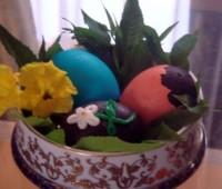 Cómo hacer un huevo de chocolate sin molde