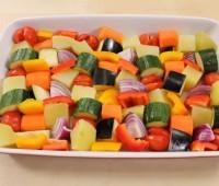 Verduras al horno: Verduras mixtas al horno