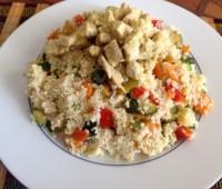 Cous Cous a mi manera: Cus Cus con pollo y verduras