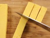 Chips de polenta: Polenta frita