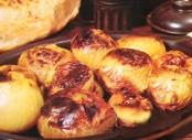 Cebollas al horno: Ideal para acompañar platos rústicos