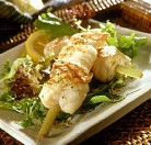 Brochet de mar: Pinchos de pescados