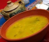 Sopa de quinua (quinoa) exquisita