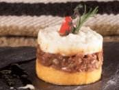 Pastel de papas y zapallo relleno con carne