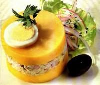 Causa rellena Limeña: Comida típica Peruana