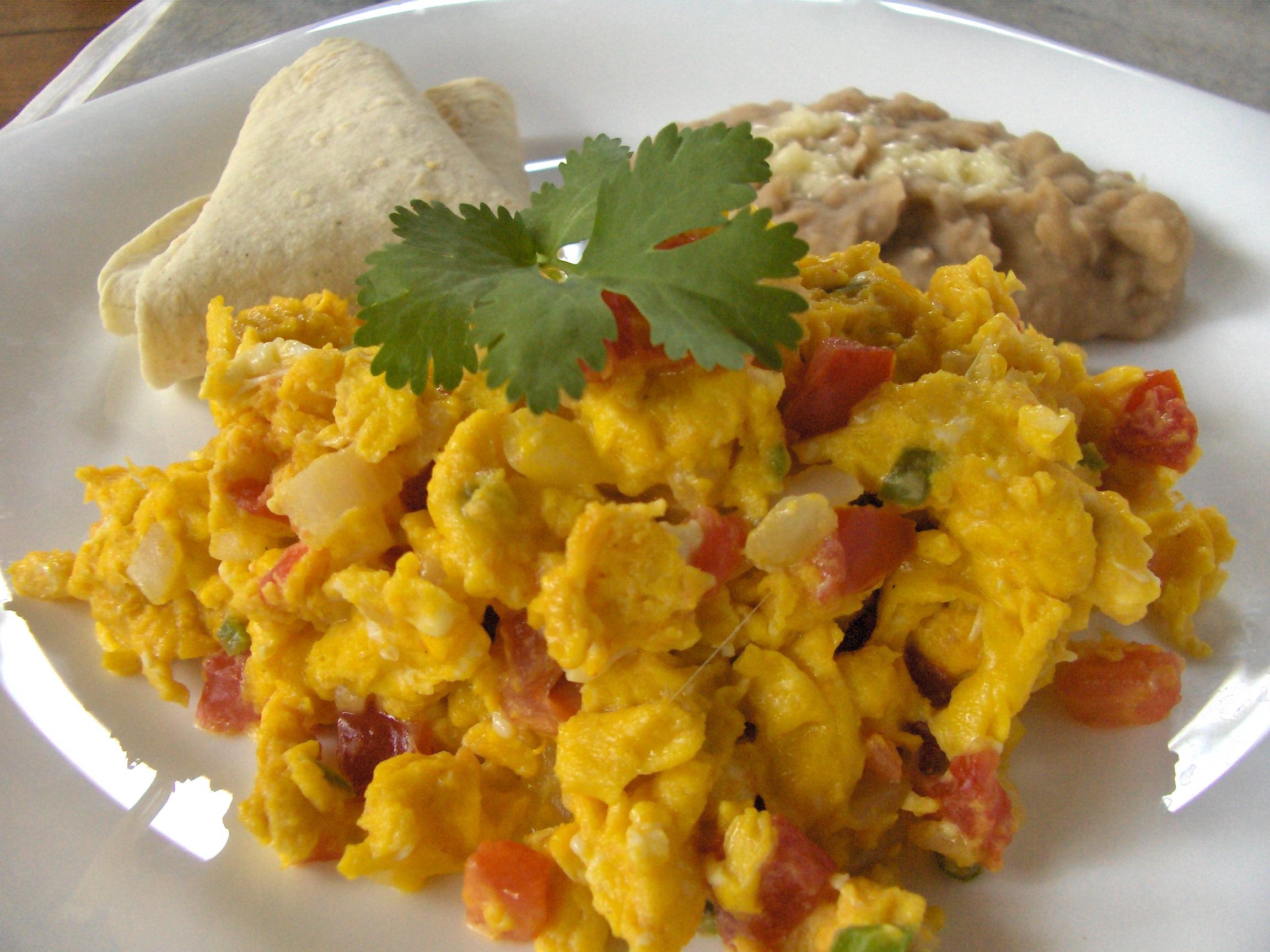 huevos rancheros mexicanos con chiles jalape241os cocinachic