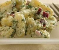 Receta de ensalada de papas, cebolla, huevos y apio