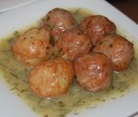 Albóndigas de pescado de Rosh Hashana