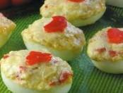 Huevos rellenos con atún: Receta super rápida
