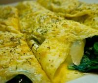 Omelette de espinaca: Receta super rápida